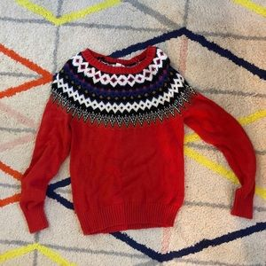 Boho cozy sweater